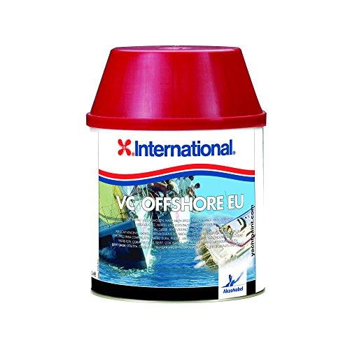 International VC Offshore Antivegetativa dura e scorrevole con teflon, colore: Nero, size: 2,0 lt