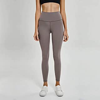 Spring and Summer High Waist Yoga Pants Female Hips High Waist Shaping Running Motion Fitness Pants,Gray(6)