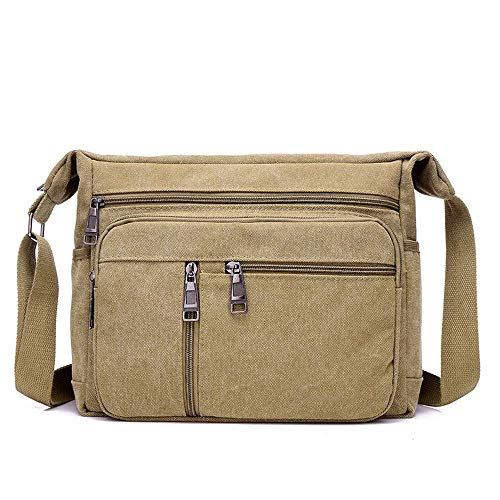 Heren Casual Schouder Messenger Bag Canvas Bag Sporttas Outdoor Reistas Studententas Mode tas JYT