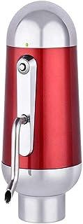 AMOYEE Aléération électrique à 1 Boutons instantanée et à la décanteur de vin, Portable, Noir