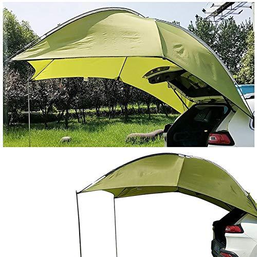 Auto-Anhängervordach wasserdicht Sonnendach Zeltpavillon SUV tragbar UV Schutz für Camping Strand / Automatisches Reisenzelt / Sonnendach