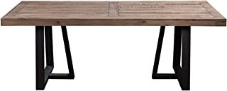 Alpine Furniture 1568-01 Prairie Dining Table, 84