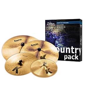 Zildjian K Custom Special Dry Worship Pack. -inch colori assortiti – Country Pack