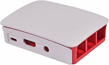 Raspberry Pi Gehäuse für Modell B+ / Pi 2, weiß/rot