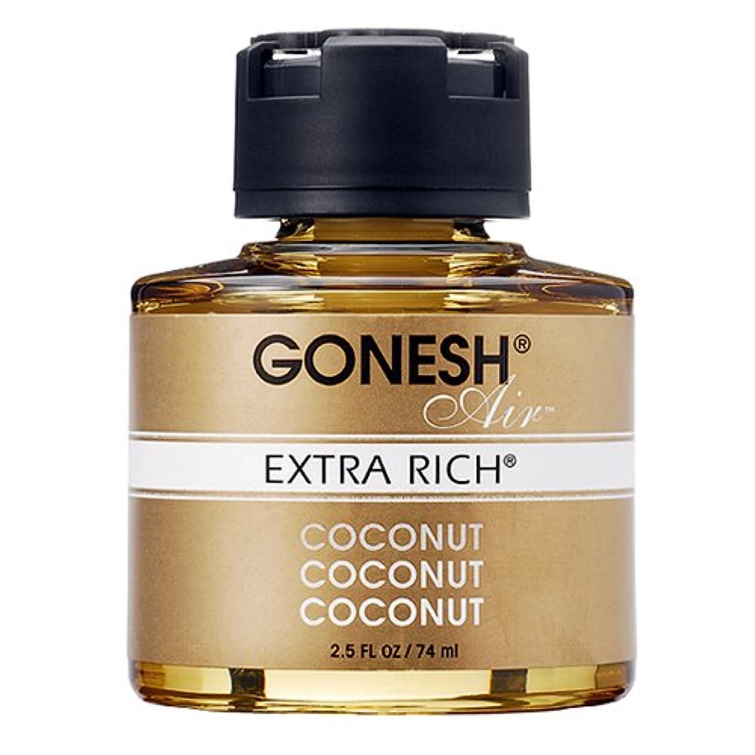 流出乏しいうなり声GONESH リキッドエアフレッシュナー ココナッツ