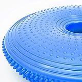 Ballsitzkissen mit Loch »Donut« inkl. Pumpe (ca. 140kg Maximalgewicht) / luftgefülltes Sitzballkissen, Luftkissen & Gleichgewichtskissen - 3