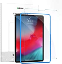 UGREEN Screen Protector for iPad Pro 2020 12.9 inch, iPad Pro 2018 12.9 inch, Premium Tempered Glass HD Screen Saver 9H Hardness Bubble-free Anti-Fingerprint Face ID & Pencil, Alignment Frame