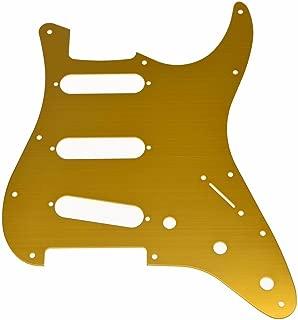 Best gold stratocaster pickguard Reviews