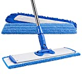 18' Professional Microfiber Mop | Stainless Steel...