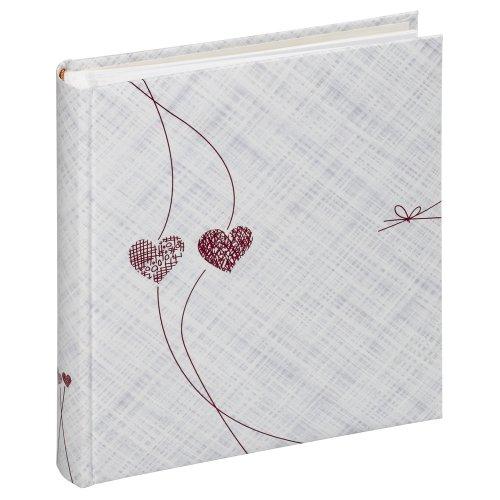 Panodia 270756 Dolce Memo - Álbum de fotos (200 fundas, 11.5 x 15 cm), diseño de corazones