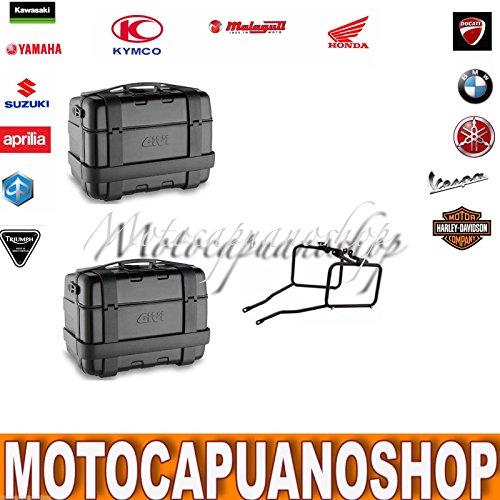 GIVI koffer zijdelings Trekker zwart TRK33B ATT. PL1111 Honda NC 700 S 201213