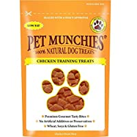 Pet Munchies Free from artificial colours, preservatives or flavours. Naturally low in fat. Made from human grade meat. Pet Munchies come in a fully re sealable bag, simply reseal and store in a cool, dry place. Always store out of reach of pets or c...