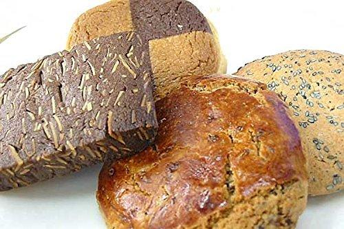 5種の クッキー 詰め合わせ ( チョコ アーモンド ・ バニラ ・ セサミ ・ レーズン ・ キャラメル ) (ギフト 用 30枚入り)