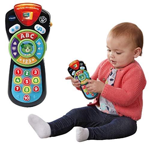 VTech 80-606272 Mijn Eerste Afstandsbediening - Multikleuren - Plastic - Voor Jongens en Meisjes - Van 12 tot 36 maanden