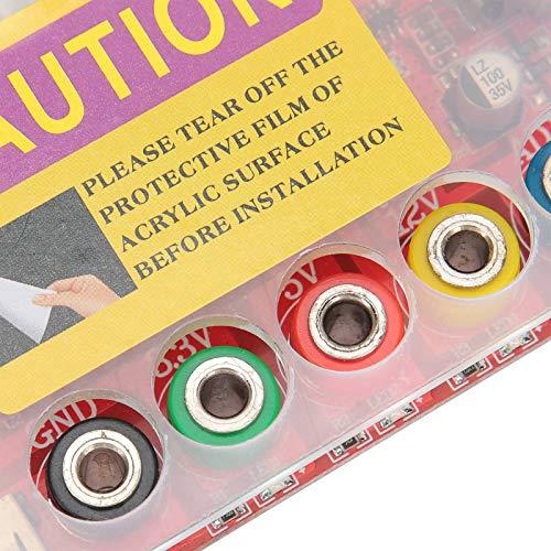 jadenzhou Perilla de Voltaje, componente electrónico, Rojo Práctico para computadora de Escritorio