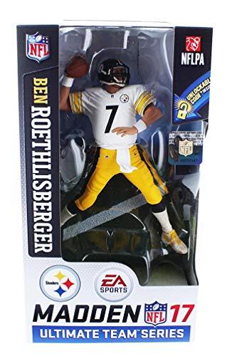 Preisvergleich Produktbild McFarlane NFL Madden 17 Series 2 BEN ROETHLISBERGER 7 - PITTSBURGH STEELERS Figur