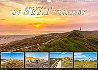 IN SYLT VERLIEBT (Wandkalender 2022 DIN A3 quer): Zauberhafte Impressionen von der Insel (Monatskalender, 14 Seiten )