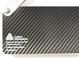 Avery supreme d'emballage film carbone 3D série noir large structure de 'covering' pour découpe...