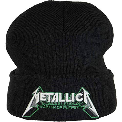 Amplified Band Beanie Wintermütze (one Size, Metallica)