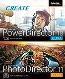 Cyberlink PowerDirector 18 and PhotoDirector 11 Ultra [PC Download]