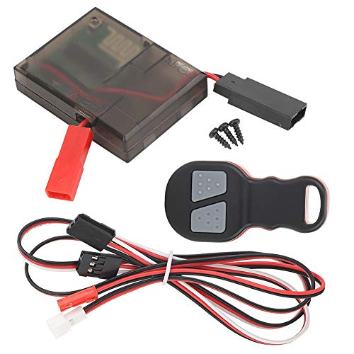 Tbest RC Winch Receptor de Control Remoto inalámbrico, Control Remoto inalámbrico Kit...