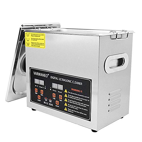 3L Ultrasonic Cleaner Machine with Digital Timer and Heater for Jewelry Watch Coin Glass Circuit Board
