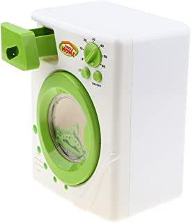Rameng Machine /à Laver Jouet de Simulation Meubles Enfant Maison de Jeu Laverie en Plastique