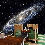 Vía Láctea Nebulosa Cosmic Agujero negro Impresión artística Pintura de pared Póster Imagen Foto Impresión en HD pa papel pintado pared dormitorio de estar sala de estar fondo No tejido-430cm×300cm