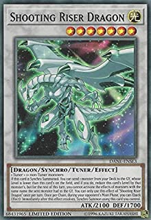 Yu-Gi-Oh! - Shooting Riser Dragon - DANE-ENSE3 - Super Rare - Limited Edition - Dark Neostorm: Special Edition