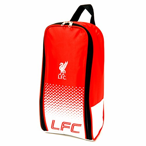 Liverpool FC - Bolsa para zapatos (Talla Única) (Rojo/Blanco)