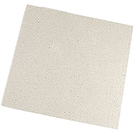 Four Micro-ondes Mica Plaques - TOOGOO(R) 2 * Remplacement 12 x 12cm Mica Plaques pour Four a Micro-ondes