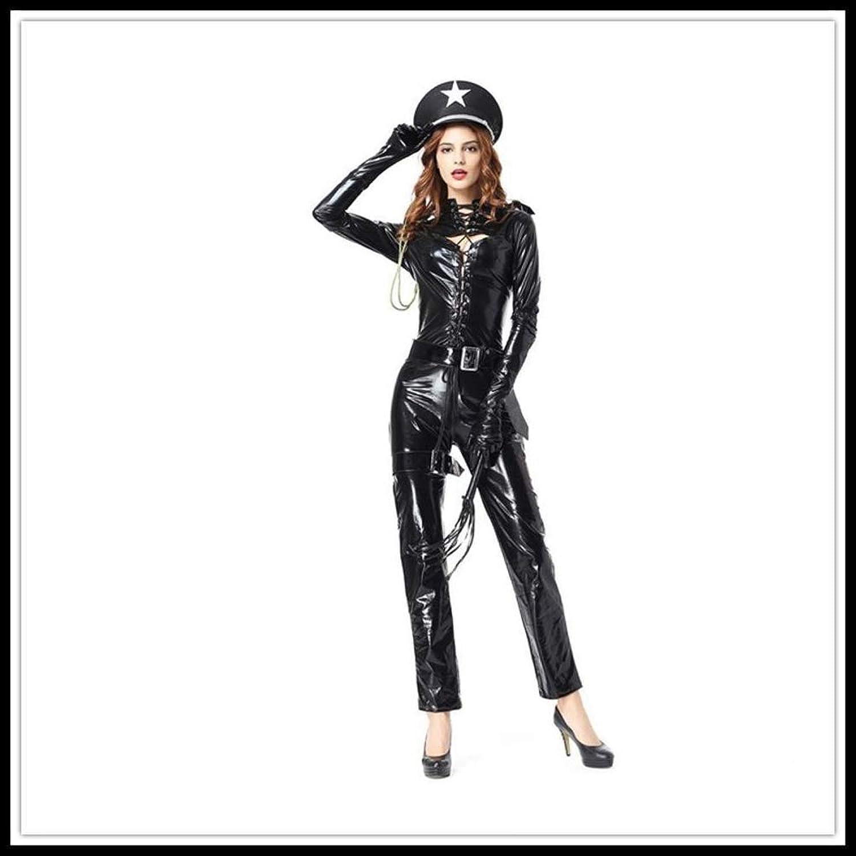 Shisky Cosplay kostüm Damen, Polizistin Kostüme Kostüm Halloweenkostüm Kostüm Rolle Spielen Maskerade B07J65LH13 Ein Gleichgewicht zwischen Zähigkeit und Härte    Wunderbar