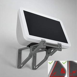 Echo Show 8 Wall Mount Wall Bracket Adjustable Tilt Multi Function - Upright & Angled Grey