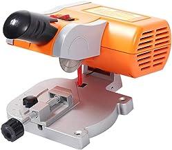 ZHWDD Micro cortadora, Herramientas pequeñas para procesamiento de Metales, Madera, Metal, Sierra de Corte eléctrica de Escritorio, para Cortar Madera y Manualidades en Metal