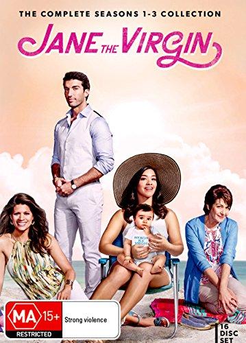 Jane The Virgin Season 1, 2 & 3 | Gina Rodriguez | 16 Discs | NON-USA Format | PAL | Region 4 Import - Australia