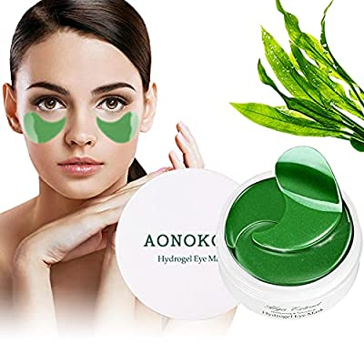 Collagen Under Eye Patches for Puffy Eyes - 30 Pairs Anti-Aging Hyaluronic Acid Under Eye Treatment Masks for Lifting, Reducing Dark Circles, Anti-Wrinkles and Fine Lines by Aonokoy