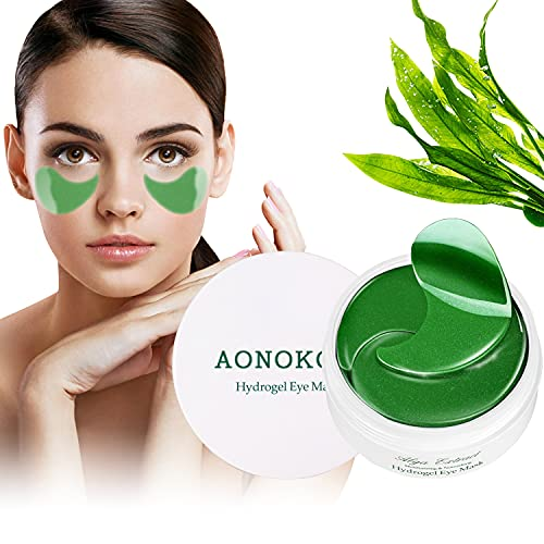 Collagen Under Eye Patches for Puffy Eyes - 30 Pairs Anti-Aging Hyaluronic...