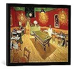 Kunst für Alle '–Fotografía enmarcada de Vincent Van Gogh El Noche Café en la Place Lama rtine en ...
