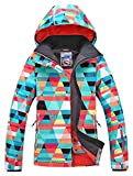 APTRO Women's Insulated Waterproof Ski & Snowboard Jacket Bright Colored...