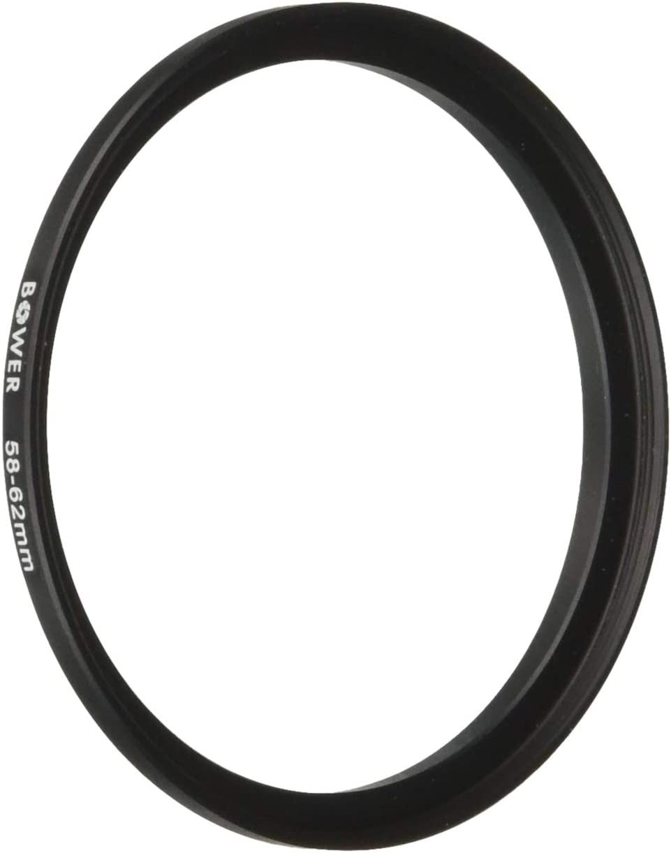 Bower 55-62mm 5% OFF Great interest Step-Up Adapter Ring