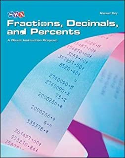 Corrective Mathematics Fractions, Decimals, and Percents, Additional Answer Key (Distar Arithmetic Series) by McGraw-Hill Education (2004-10-01)