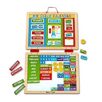 Melissa & Doug My First Daily Magnetic Calendar by Melissa & Doug