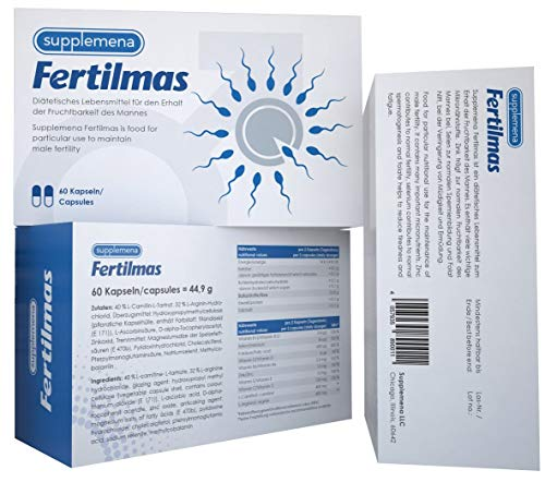 Supplemena Fertilmas (3 Months) - Men's Fertility Supplement