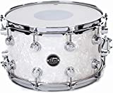 DW Performance Series Snare Drum - 8 Inches X 14 Inches White Marine Finish Ply