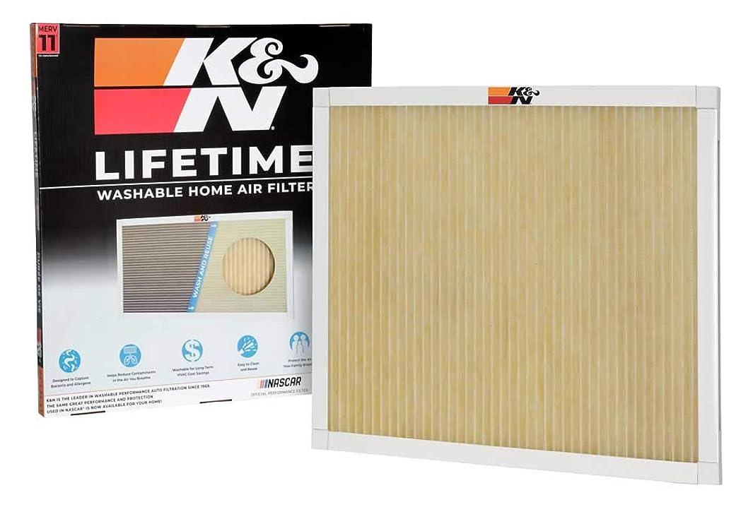 K&N HVC-12424 Lifetime Washable AC Furnace Air Filter, MERV 11 24x24x1