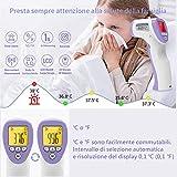 Immagine 2 didiooi termometro febbre infrarossi portatile