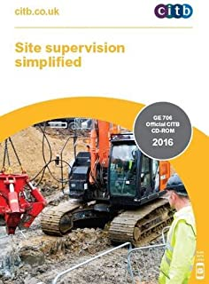 Site Supervision Simplified: GE 706/16 2016