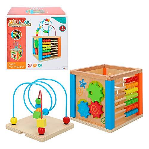 WOOMAX- Centro de actividades de madera (Colorbaby 42745) , color/modelo surtido