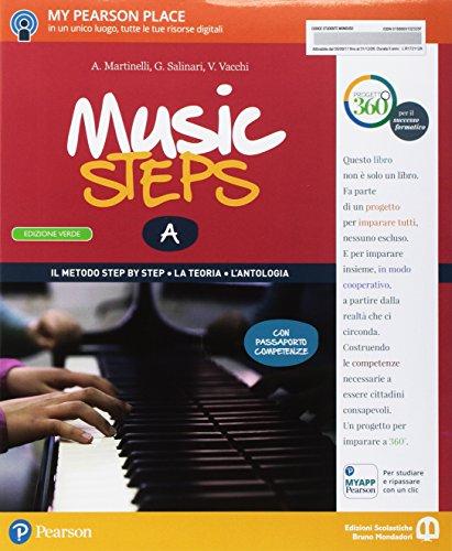 Music steps. A piccoli passi nella grande musica. Ediz. verde. Per la Scuola media. Con e-book. Con espansione online