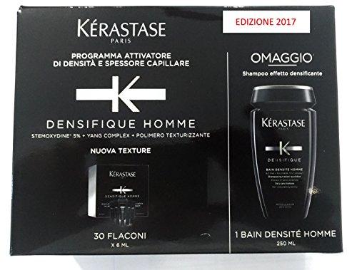Kerastase Kit Densifique Homme 6 ml x 30 + Bain Densité Homme 250 ml